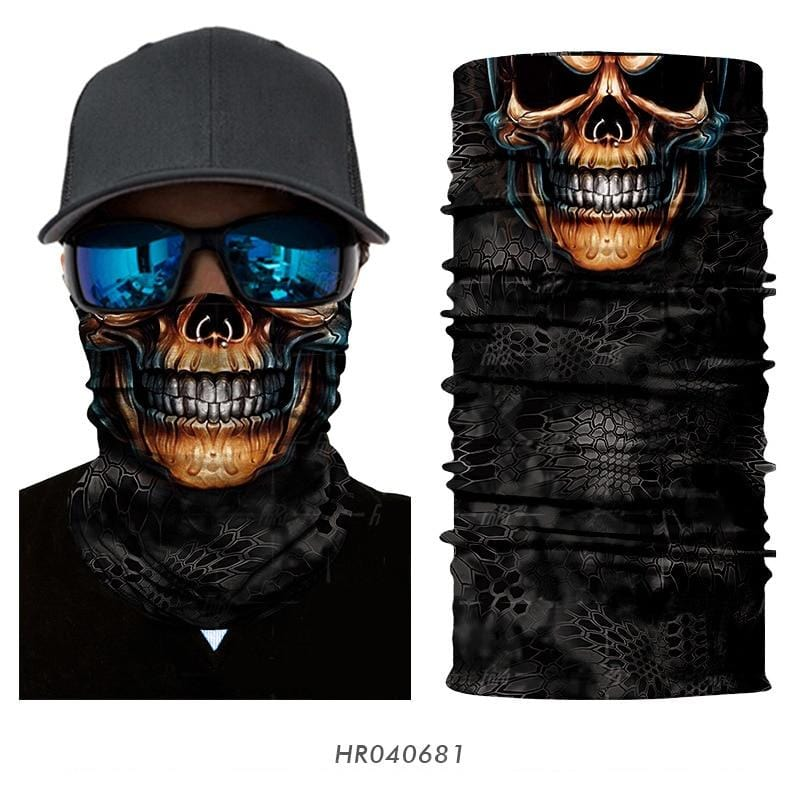 Custom Face Covers Balaclava Magic Scarf Neck Face Cover HR040681 / One Size DISCOUNT