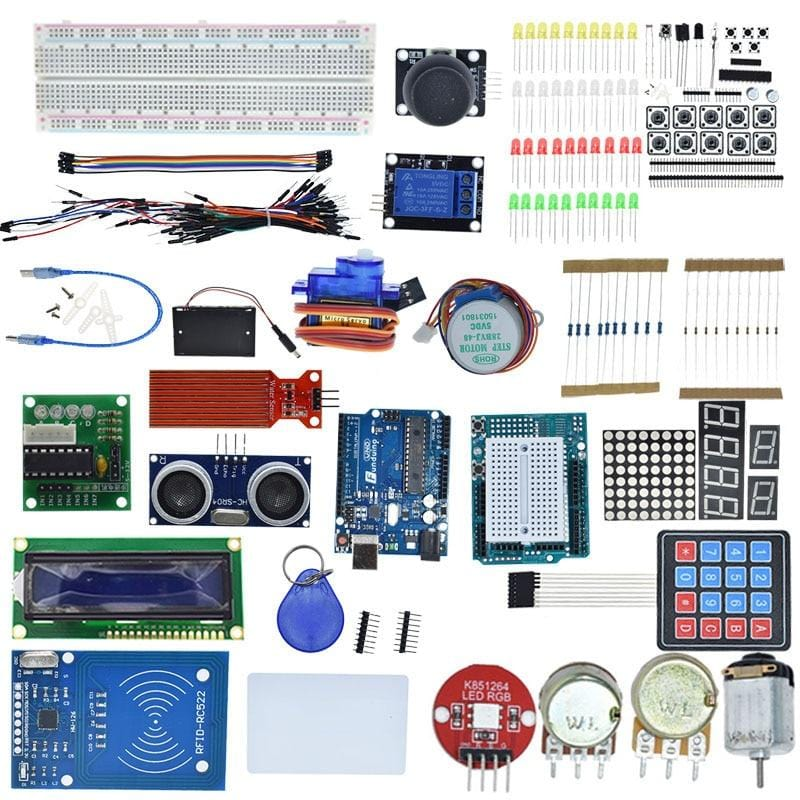 Starter Learning Kit for Arduino UNOR3 Projects Electrical DIY Circuit Board