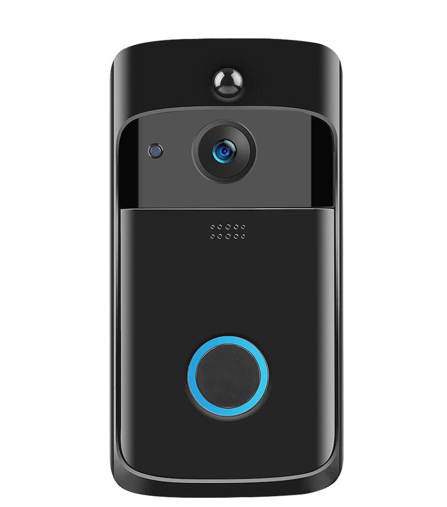Wireless WiFi Video Doorbell Smartphone Remote Camera 2-way Audio Home Security
