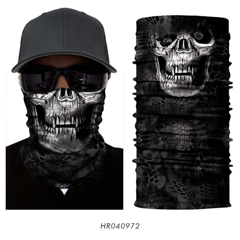 Custom Face Covers Balaclava Magic Scarf Neck Face Cover HR040972 / One Size DISCOUNT