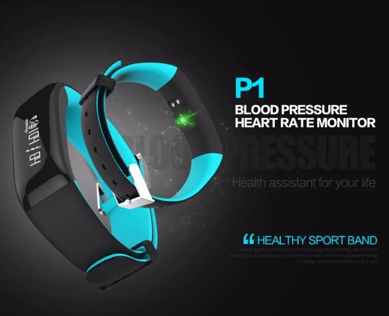 Heart Rate Blood Pressure Monitor Waterproof Bluetooth Smart Watch For iphone X 8/8 Electronics Grey DISCOUNT