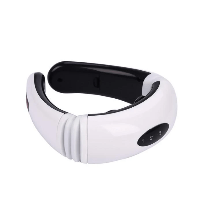 Electric Cervical Pulse Neck Support Massager Magnetic Therapy Device