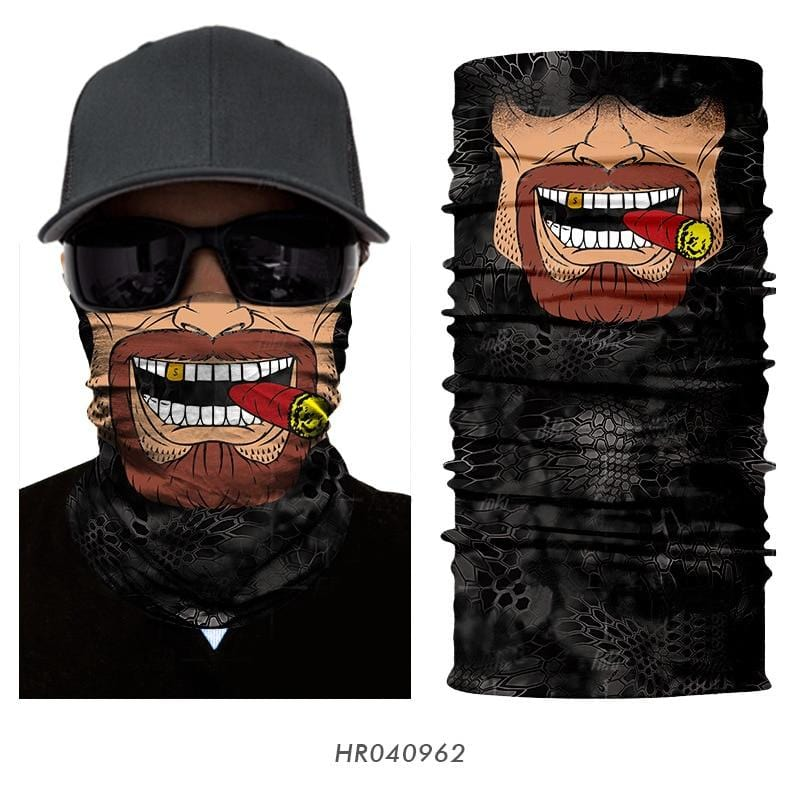 Custom Face Covers Balaclava Magic Scarf Neck Face Cover HR040962 / One Size DISCOUNT