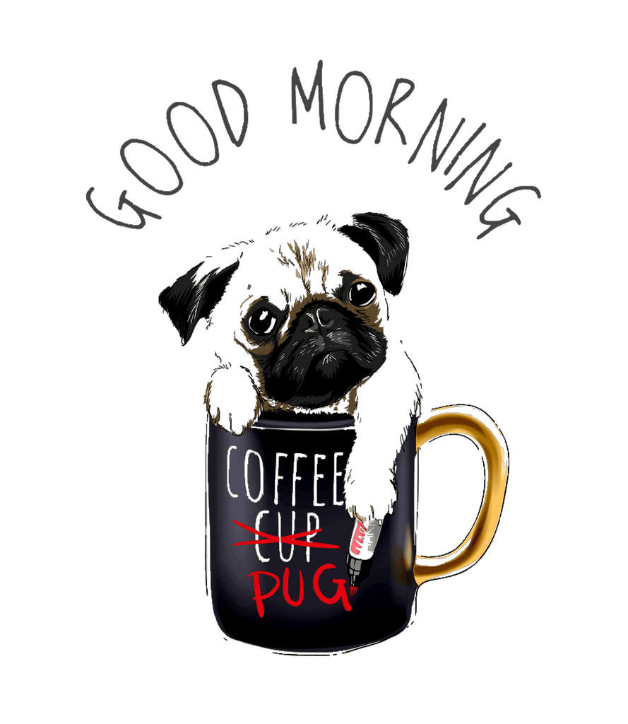Coffee Pug Mug DISCOUNT