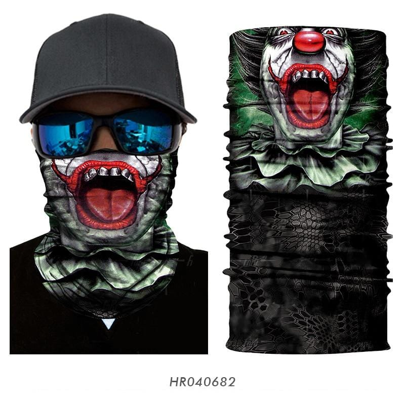 Custom Face Covers Balaclava Magic Scarf Neck Face Cover HR040682 / One Size DISCOUNT