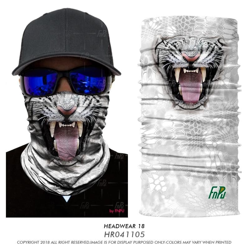 Custom Face Covers Balaclava Magic Scarf Neck Face Cover HR041105 / One Size DISCOUNT
