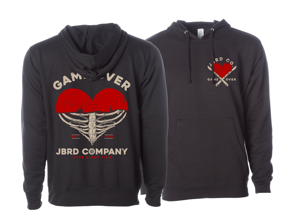GAME OVER -  Black Hood - JBRD