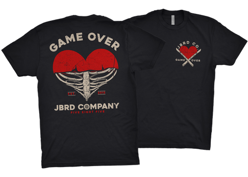 GAME OVER SS Shirt - Black - JBRD