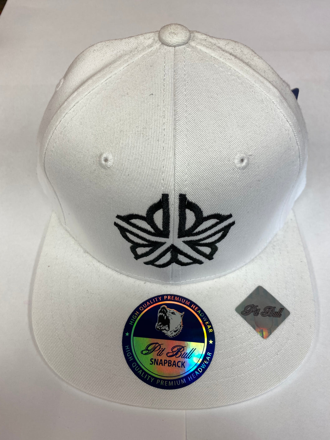 Roc Flower Snapback - White