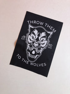 Wolves Small Patch - JBRD
