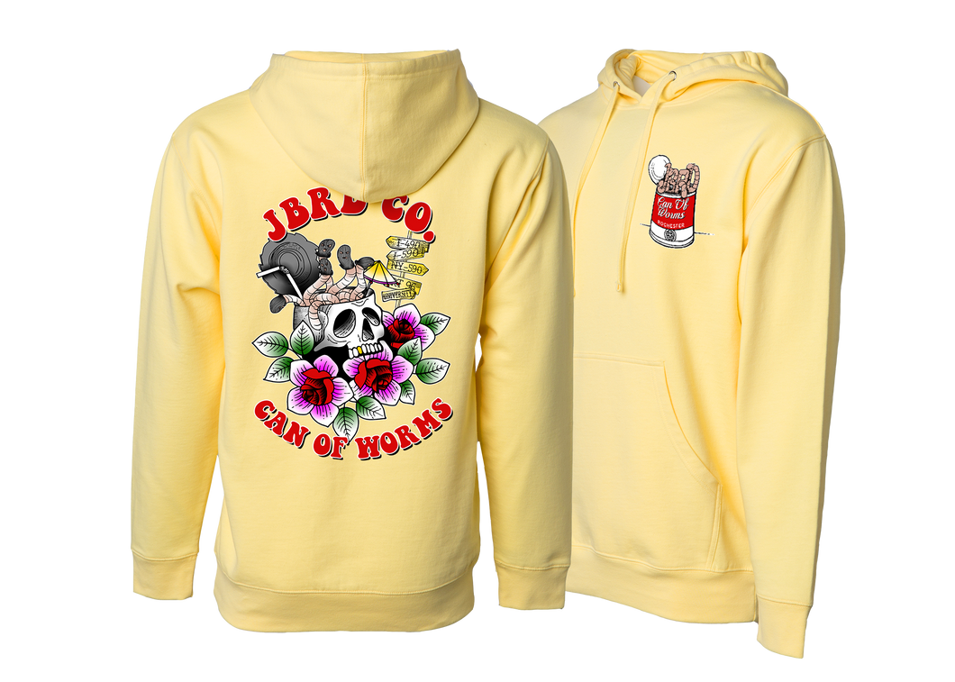 CAN OF WORMS -  Light Yellow Hood - JBRD