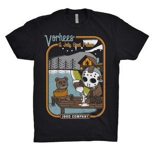 VORHEES TEE - BLACK
