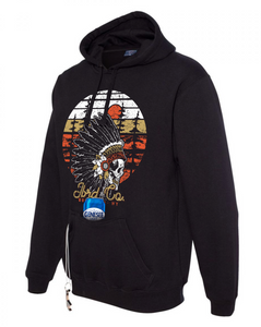 The Native - Tailgate Coozie Hoodie BLACK