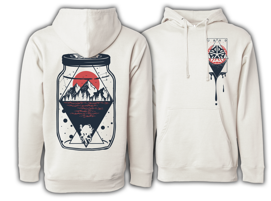 Sunset Heavyweight Hoodie - Bone
