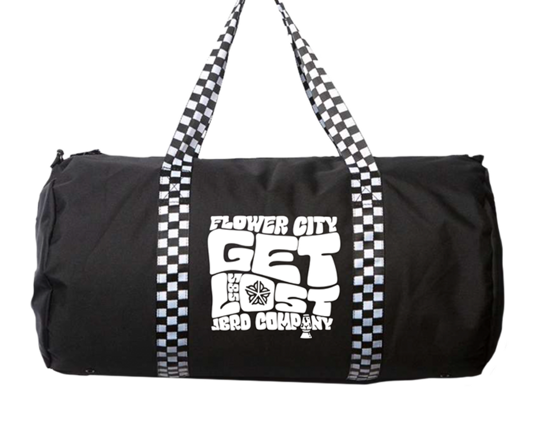 GET LOST - Day Tripper 29L Duffel Bag CHECKER