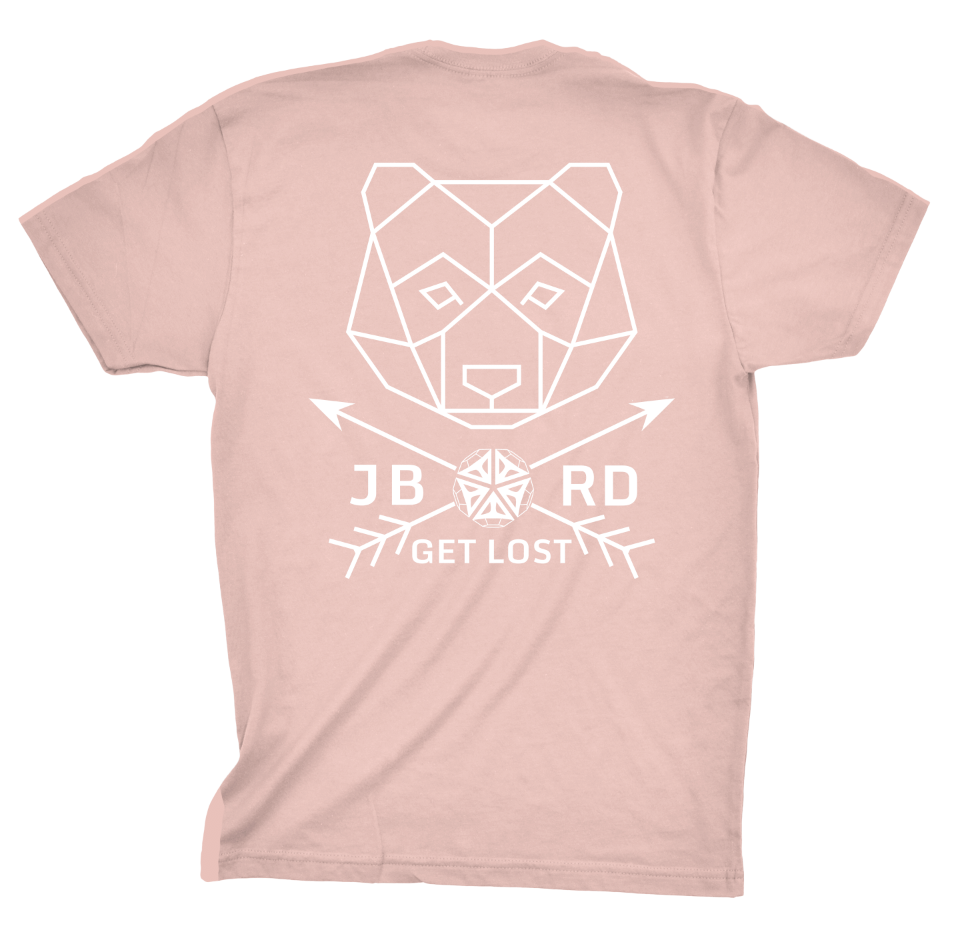 Get Lost Shirt - Dusty Peach - JBRD
