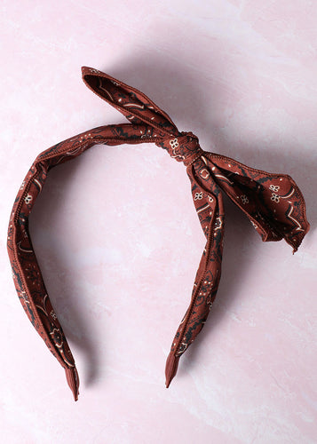 Rust Hairband - In Your Space Boutique