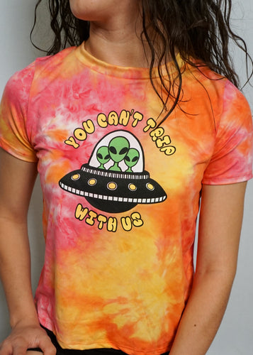 You Can't Trip With Us Top - In Your Space Boutique