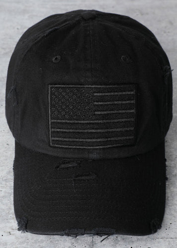 USA Cap (Black) - In Your Space Boutique
