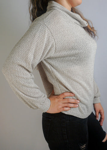 Light Turtle Neck Long Sleeve - In Your Space Boutique
