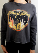 Load image into Gallery viewer, Navy Vintage Graphic Sweatshirt - In Your Space Boutique