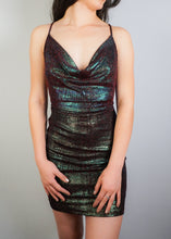 Load image into Gallery viewer, Glitter Mini Dress - In Your Space Boutique