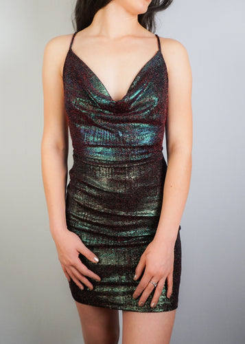 Glitter Mini Dress - In Your Space Boutique
