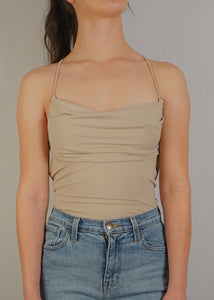 Smooth Drape Bodysuit - In Your Space Boutique