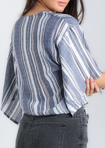 Denim Top - In Your Space Boutique