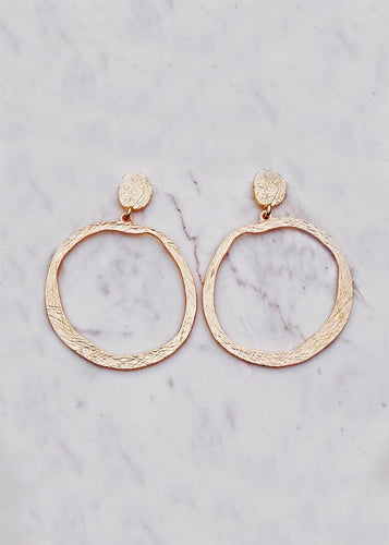 Ire Hoop Earrings - In Your Space Boutique