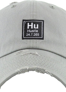 Hustle Cap (Grey) - In Your Space Boutique
