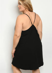 Black Tunic Dress - In Your Space Boutique