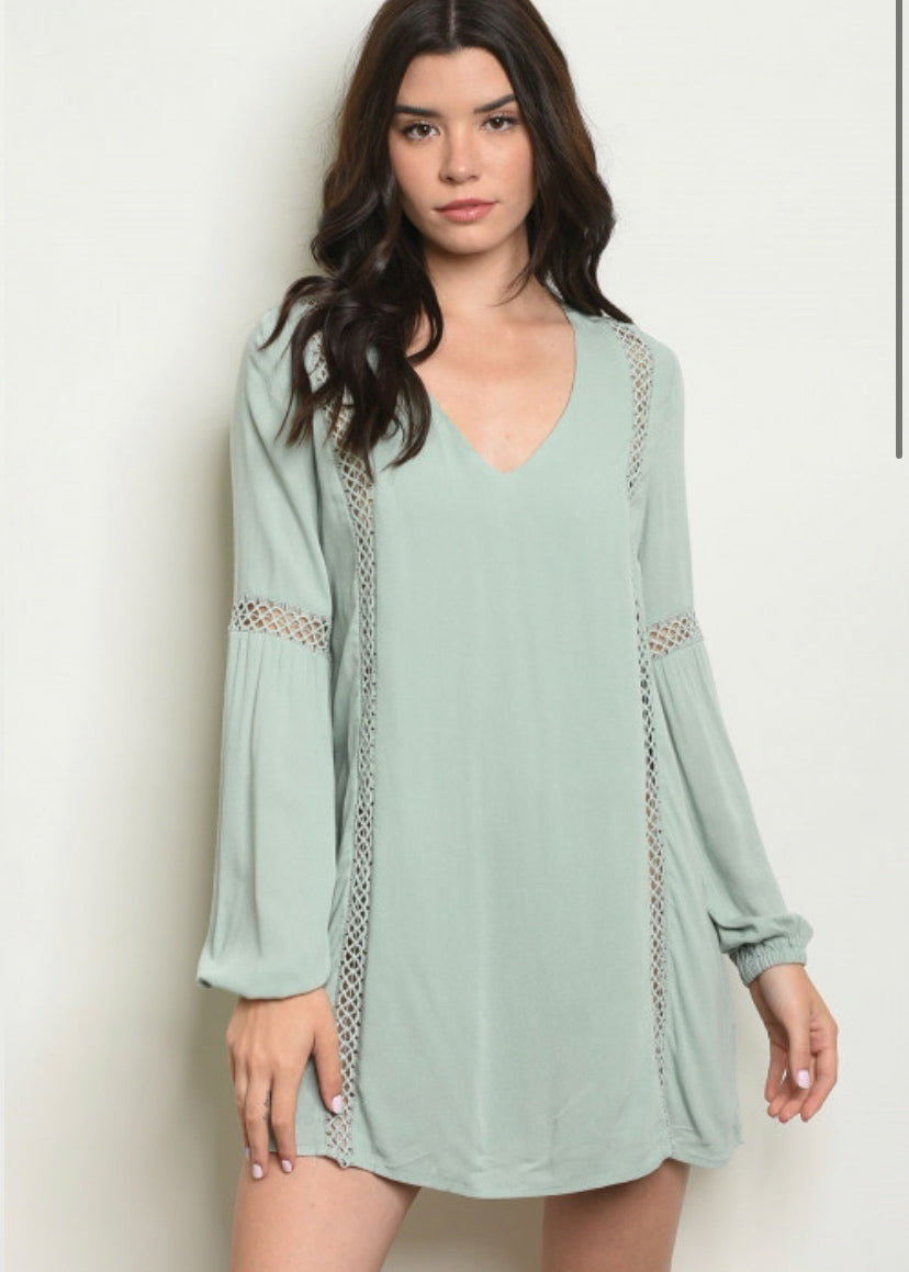 Minty Dress - In Your Space Boutique