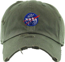 Load image into Gallery viewer, NASA Cap (Olive) - In Your Space Boutique