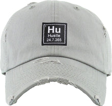 Load image into Gallery viewer, Hustle Cap (Grey) - In Your Space Boutique