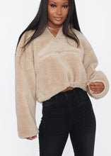 Load image into Gallery viewer, Kimmy Sherpa Pullover - In Your Space Boutique