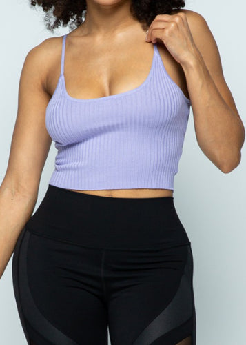 Lavender Knit Top - In Your Space Boutique