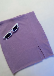 Lavender Mini Skirt - In Your Space Boutique