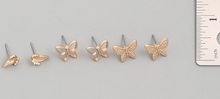 Load image into Gallery viewer, Mini Butterfly Stud Earrings Set - In Your Space Boutique