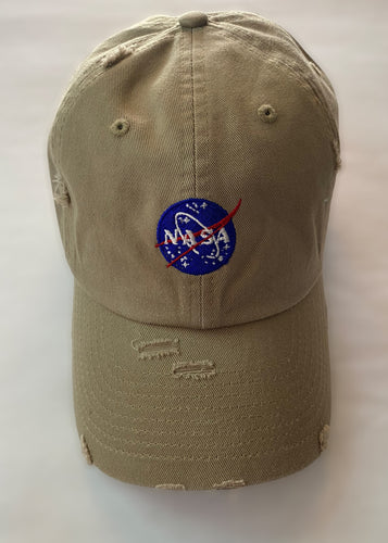 NASA Cap (Brown) - In Your Space Boutique