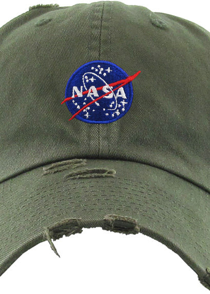 NASA Cap (Olive) - In Your Space Boutique
