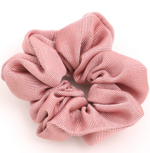 Ribbed Texture Scrunchies - In Your Space Boutique
