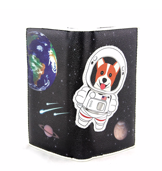 Chad The Dog Wallet - In Your Space Boutique