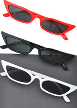 Load image into Gallery viewer, Slim Cat Eye Sunglasses - In Your Space Boutique