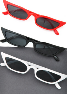 Slim Cat Eye Sunglasses - In Your Space Boutique