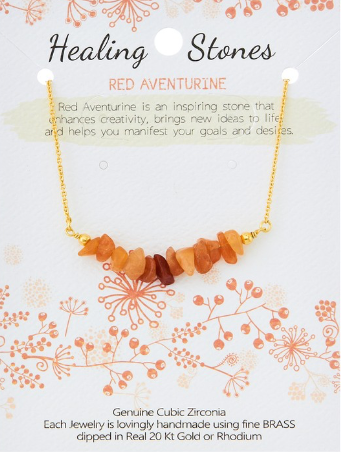 Healing Stones Necklace - In Your Space Boutique