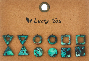 Stud Earrings - In Your Space Boutique