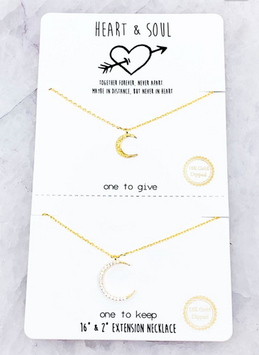 Moon Necklace - In Your Space Boutique