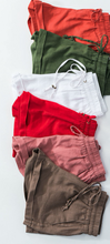 Load image into Gallery viewer, Mocha Shorts - In Your Space Boutique
