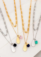 Load image into Gallery viewer, Teardrop Pendant Necklace - In Your Space Boutique